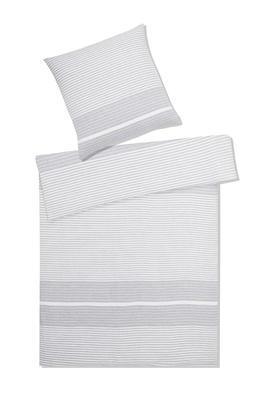 Povlečení na jednolůžko Summer, 70x90/140x200 - šedé, Elegante