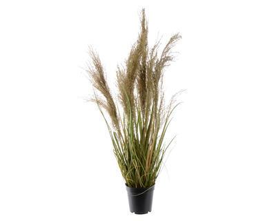 Rostlina TRÁVA V KVĚTINÁČI 85 cm, Kaemingk
