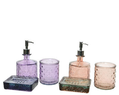 Set koupelnový GLASS 3 ks, Kaemingk