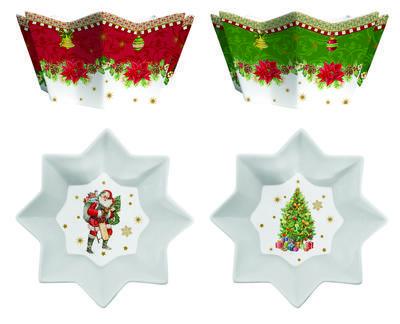 Vánoční set 2ks - Miska VINTAGE XMAS 14 cm, Easy Life