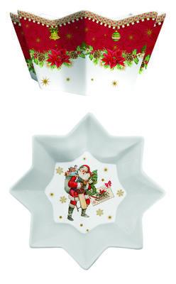 Vánoční mísa VINTAGE XMAS 20 cm, Easy Life