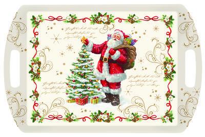 Vánoční podnos s rukojetí MAGIC CHRISTMAS 52x35 cm, Easy Life