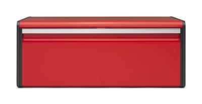 Chlebník FALL FRONT - zářivě červená, Brabantia