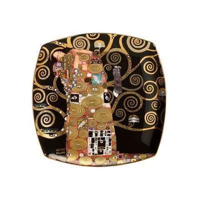 Talíř dezertní ARTIS ORBIS G. Klimt - Fulfilment - 21x21 cm, Goebel