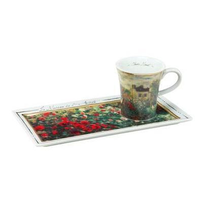 Set espresso - Limited ARTIS ORBIS C. Monet - The Artist's House - 100 ml, Goebel