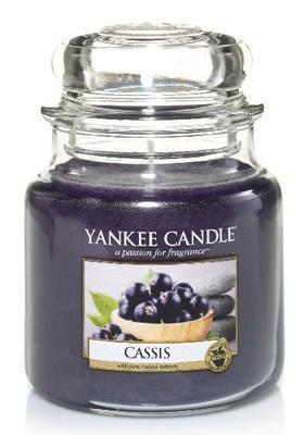 Svíčka Cassis - sklo č.2, Yankee Candle
