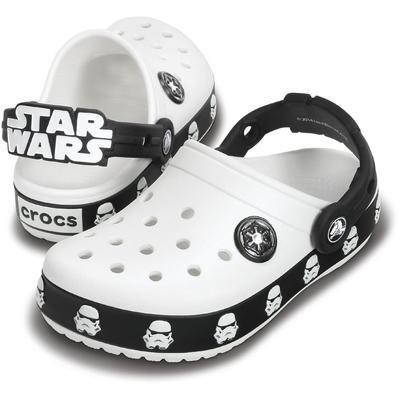 Boty STAR WARS STORMTROOPER CLOG C10/11 white/black, Crocs
