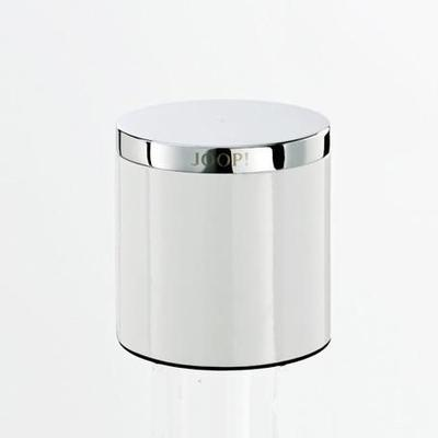 Dóza víceúčelová CHROMELINE 10,2x10,5 cm - chrom/bílý, JOOP!