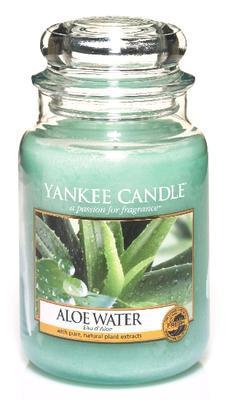 Svíčka Aloe Water - sklo č.3, Yankee Candle