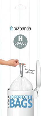 Pytle odpadkové PERFECT FIT 50-60l/10ks (H), Brabantia