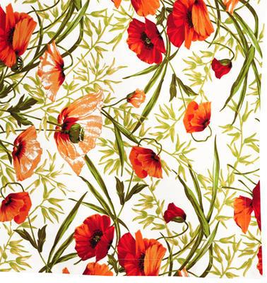 Povlak dekorační na polštář ALVOR 50x50 cm - vlčí mák, Sander