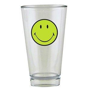 Sklenice SMILEY 300 ml - zelená/bílá, Zak!
