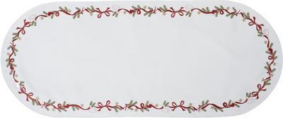 Vánoční prostírání ovál NÜRNBERG 36x50 bílé, Sander
