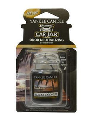 Vůně do auta Black Coconut, Yankee Candle