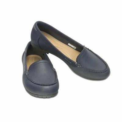 Mokasíny MARIN COLORLITE LOAFER W6 navy/graphite, Crocs