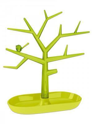 Držák na drobnosti - strom PI:P - hořčicová/transp.olivová, Koziol