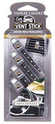 Vonné kolíčky do auta New Car Scent, Yankee Candle