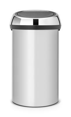Koš odpadkový TOUCH BIN 60 l - metalická šedá, Brabantia