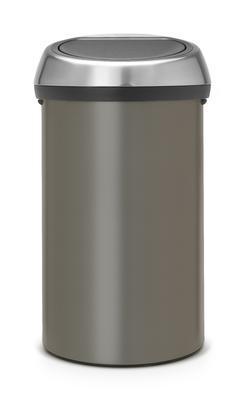 Koš odpadkový TOUCH BIN 60 l - platinová, Brabantia