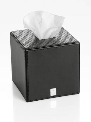 Box na ubrousky BATHLINE13,3x13,3x13,3 cm - černý, JOOP!