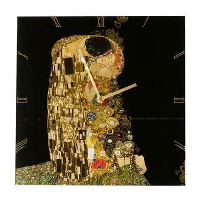 Hodiny ARTIS ORBIS G. Klimt -The Kiss - 30,5x30,5 cm, Goebel