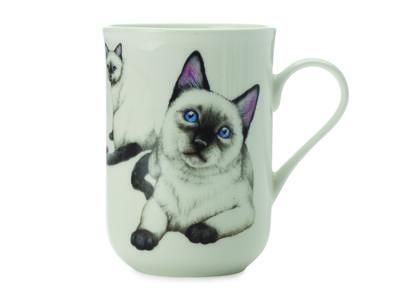 Hrnek Cat Siamese CASHMERE PETS 300 ml, Maxwell & Williams