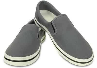 Boty NORLIN SLIP-ON MEN'S M13 charcoal/white, Crocs