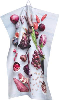 Utěrka kuchyňská 50x70 cm - veggie purple, Sander