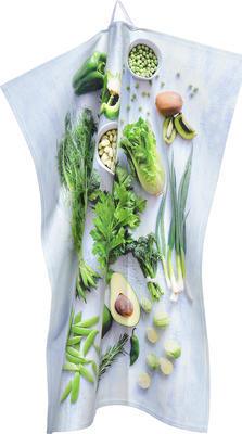 Utěrka kuchyňská 50x70 cm - veggie green, Sander
