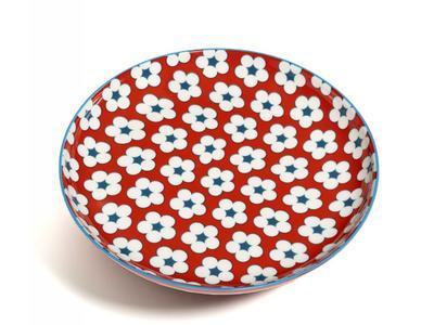 Talíř dezertní COTTON BUD 18,5 cm - červená, MW Christopher Vine