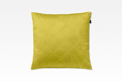 Povlak dekorační na polštář J-EMBOSSED 38x38 cm - citron, JOOP!