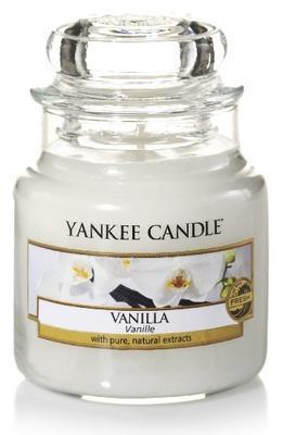 Svíčka Vanilla - sklo č.1, Yankee Candle
