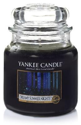Svíčka Dreamy Summer Nights - sklo č.2, Yankee Candle