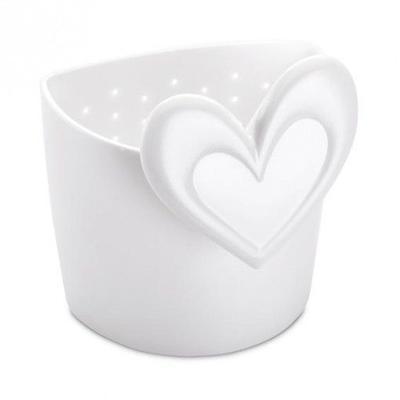 Sítko na čaj SUSI - bílá, Koziol