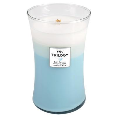 Svíčka vonná TRILOGY - Svěžest a čistota - 609,5 g, WoodWick