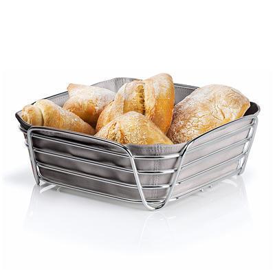 Košík na pečivo DELARA 25x25 cm - taupe, Blomus