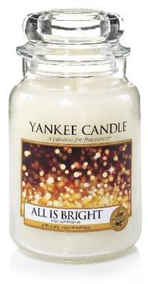 Svíčka All is Bright - sklo č.3, Yankee Candle