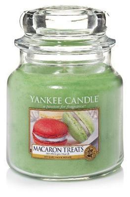 Svíčka Macaron Treats - sklo č.2, Yankee Candle