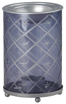 Aromalampa Grey Etched Star, Yankee Candle