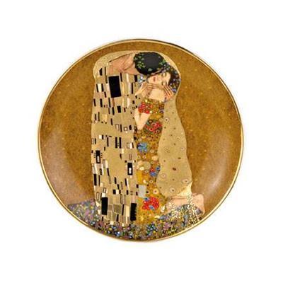 Talíř ARTIS ORBIS G. Klimt - The Kiss - 20 cm, Goebel