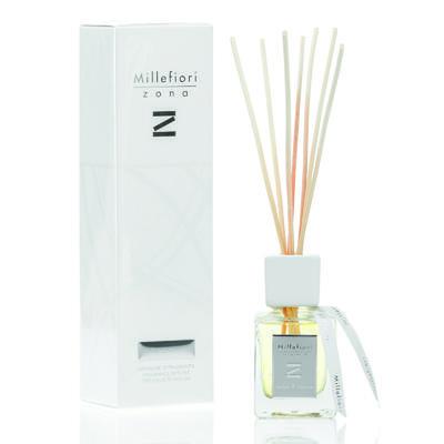 Aroma difuzér ZONA 100 ml - Amber & Incense, Millefiori