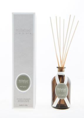 Aroma difuzér VIA BRERA 100 ml - Earl Grey, Millefiori