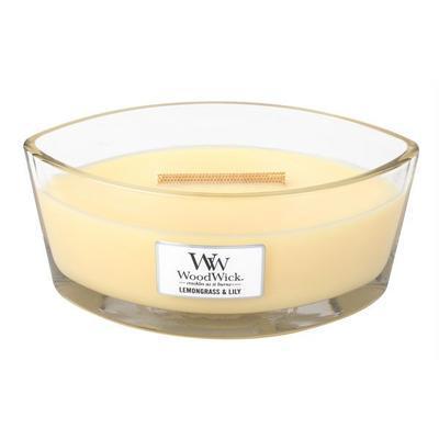 Svíčka loď - Lemongrass & Lily - 453,6 g, WoodWick
