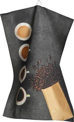 Utěrka kuchyňská 50x70 cm - coffee to stay, Sander