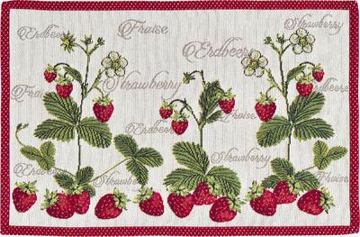 Prostírání 32x48 cm - strawberry, Sander