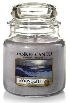 Svíčka Moonlight - sklo č.2, Yankee Candle