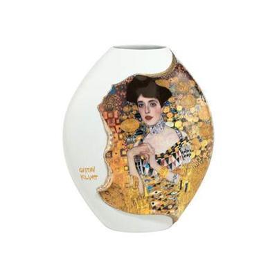 Váza rozšířená ARTIS ORBIS G. Klimt - Adele Bloch-Bauer - 19 cm, Goebel