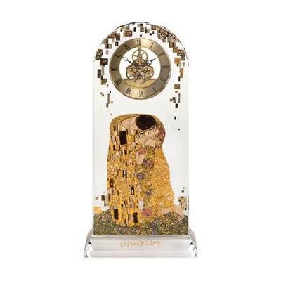 Hodiny stolní ARTIS ORBIS G. Klimt - The Kiss - 32 cm, Goebel