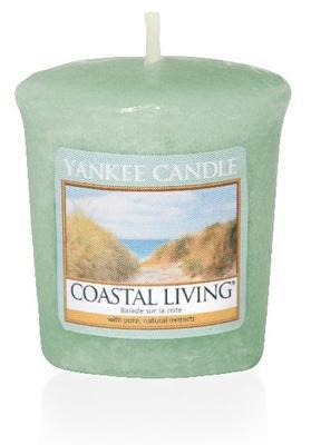 Svíčka votivní vonná - Coastal Living, Yankee Candle