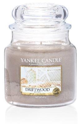 Svíčka Driftwood - sklo č.2, Yankee Candle